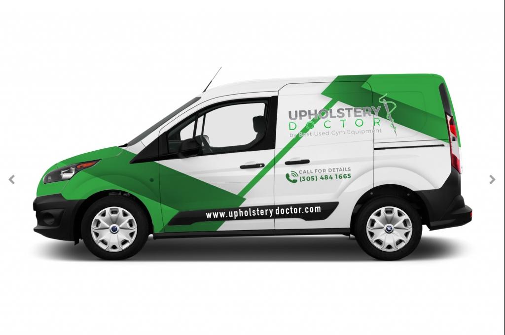Vehiculo de servicio - Upholstery Doctor