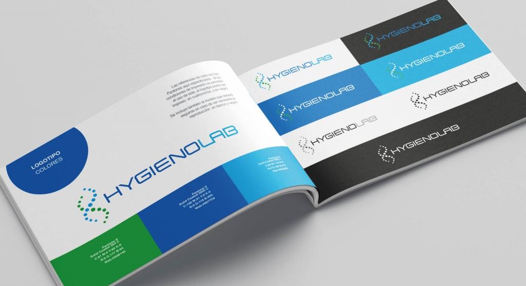 Identidad de marca - HYgienolab
