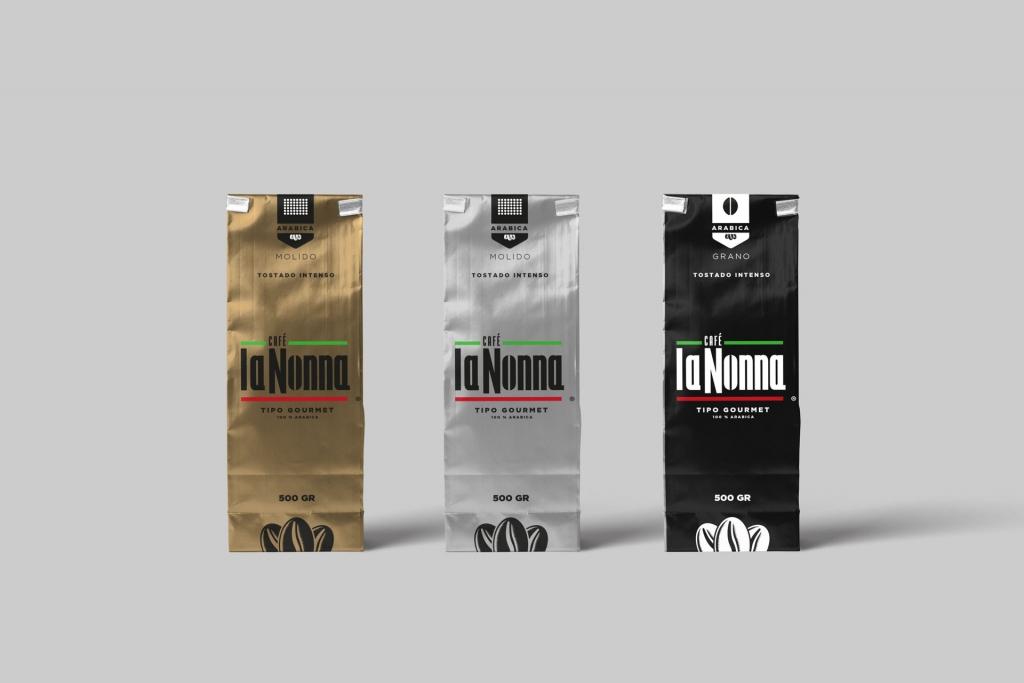 Desarrollo de Empaque - Café La Nonna